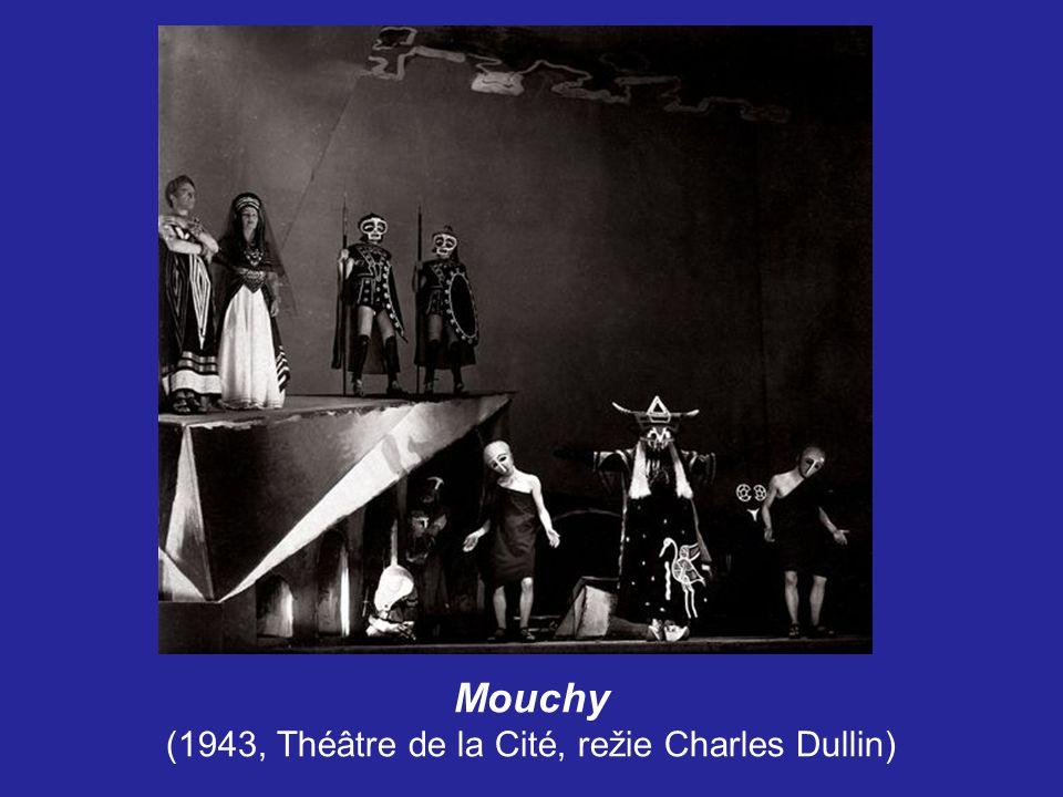 Za zavřenými dveřmi (1944, Théâtre du Vieux-Colombier, režie Raymond Rouleau)
