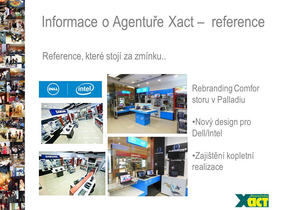 Informace o Agentuře Xact – reference Reference, které stojí za zmínku..