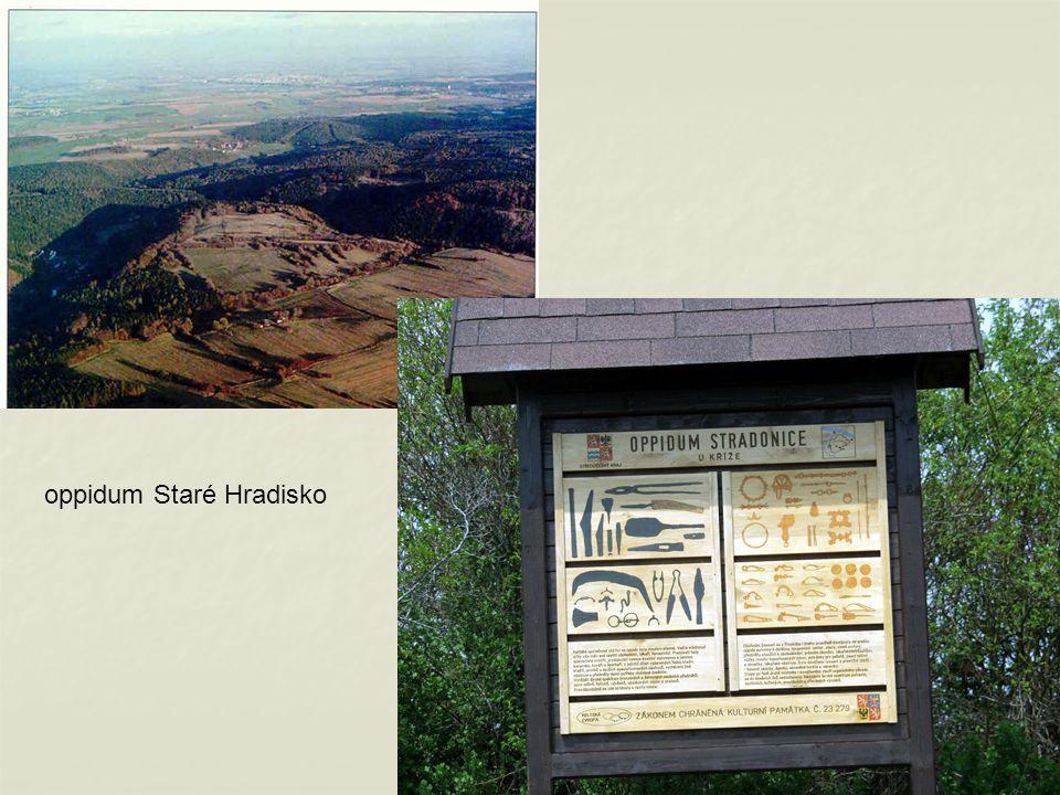 13 oppidum Staré Hradisko