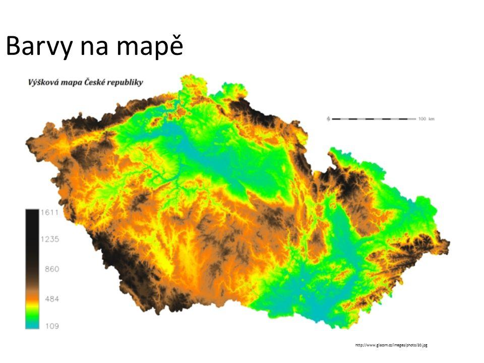 Barvy na mapě http://www.giscom.cz/images/photo/20.jpg