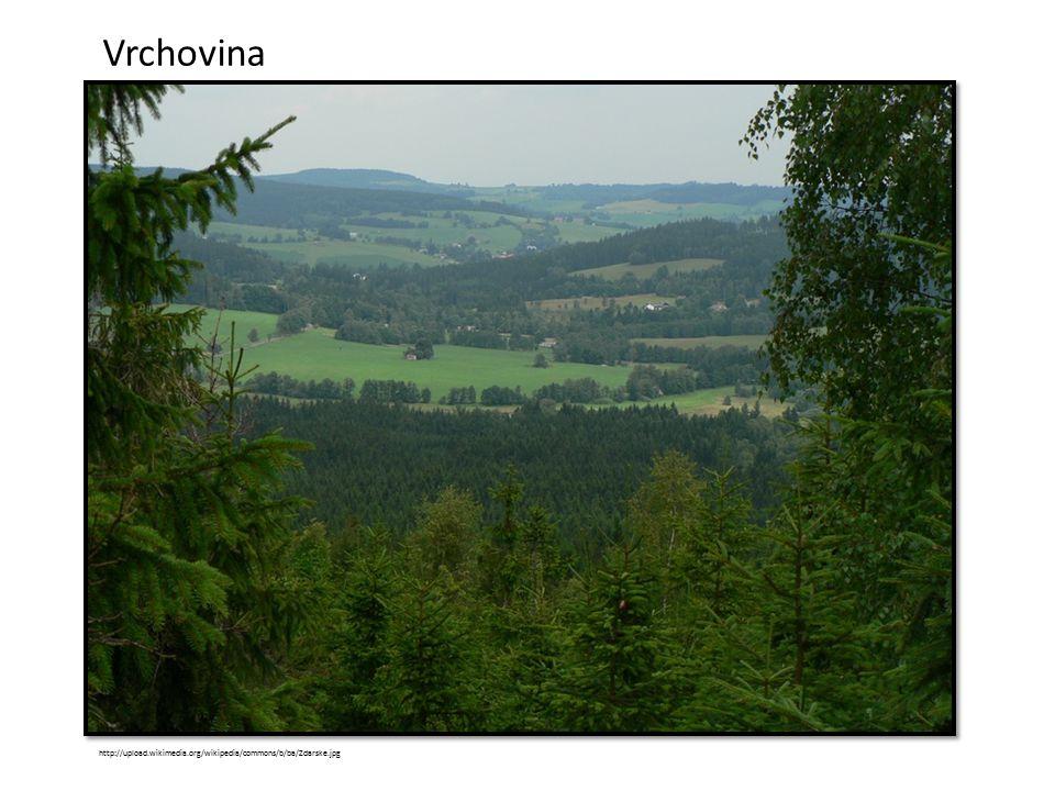 Vrchovina http://upload.wikimedia.org/wikipedia/commons/b/ba/Zdarske.jpg
