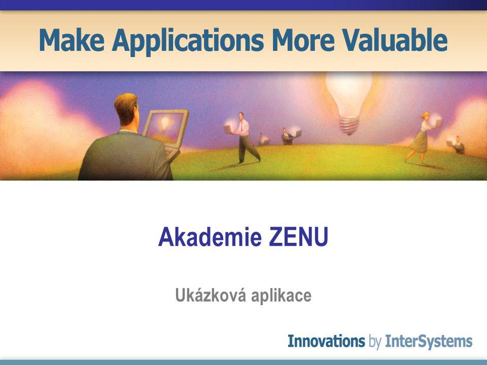 Akademie ZENU Ukázková aplikace