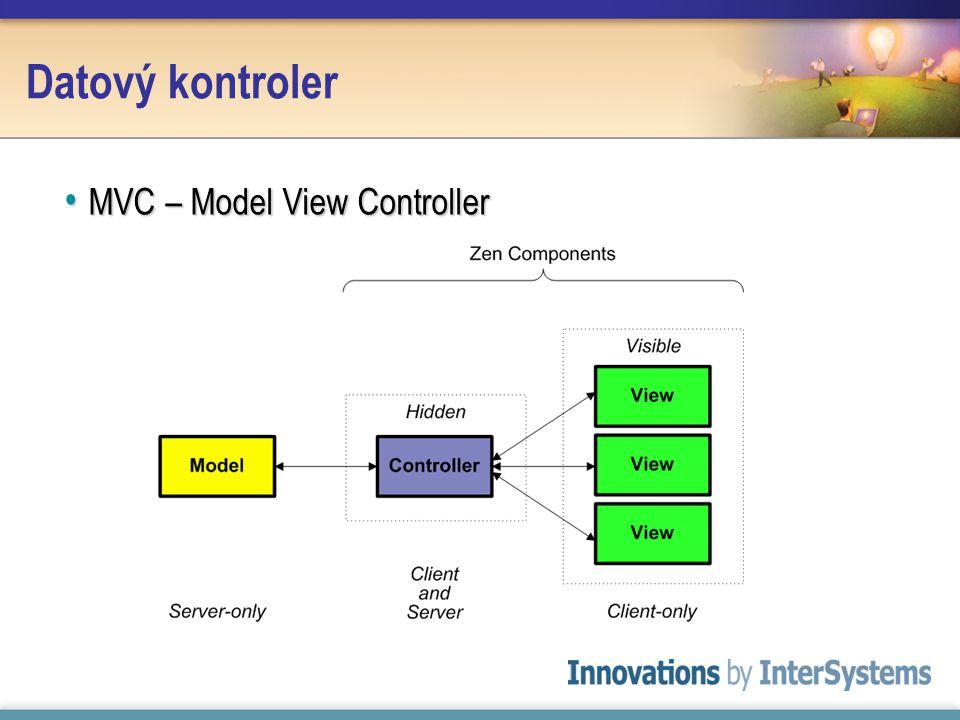 Datový kontroler MVC – Model View Controller MVC – Model View Controller