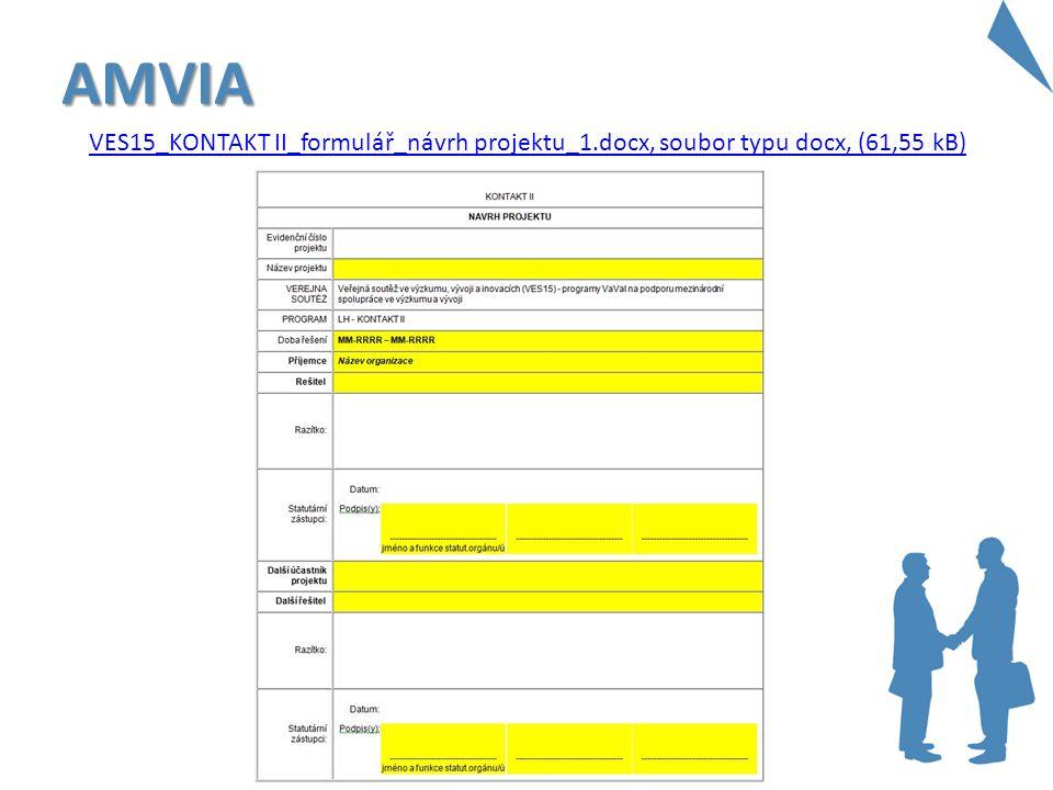 AMVIA VES15_KONTAKT II_formulář_návrh projektu_1.docx, soubor typu docx, (61,55 kB)