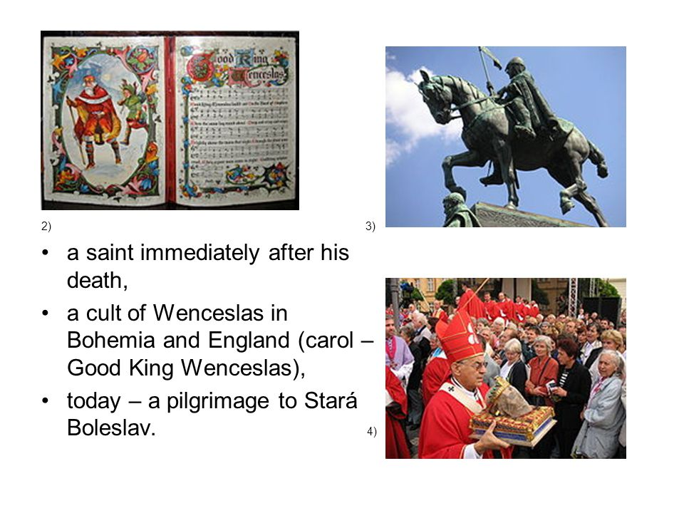 Wenceslas in a Legend Try to retell the legend.Use the phrases below.