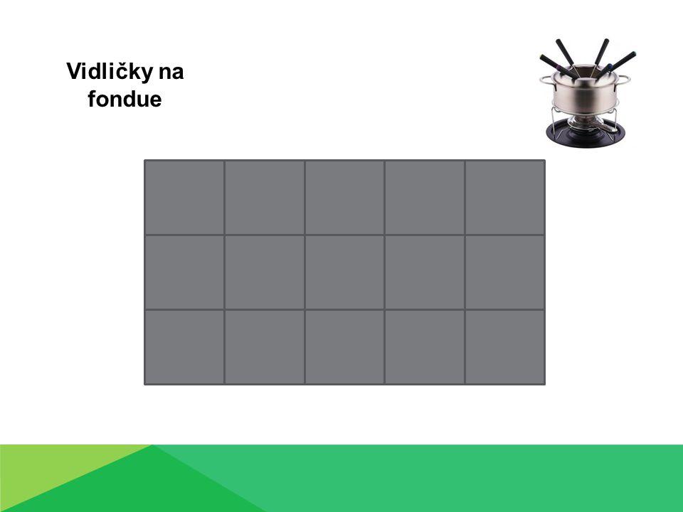 Vidličky na fondue