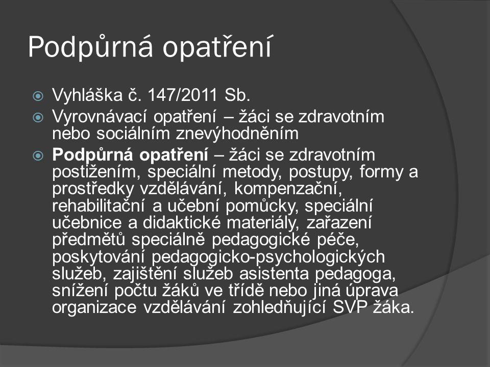 Pravidla hodnocení  Určuje školní řád dle platné legislativy (zákon č.