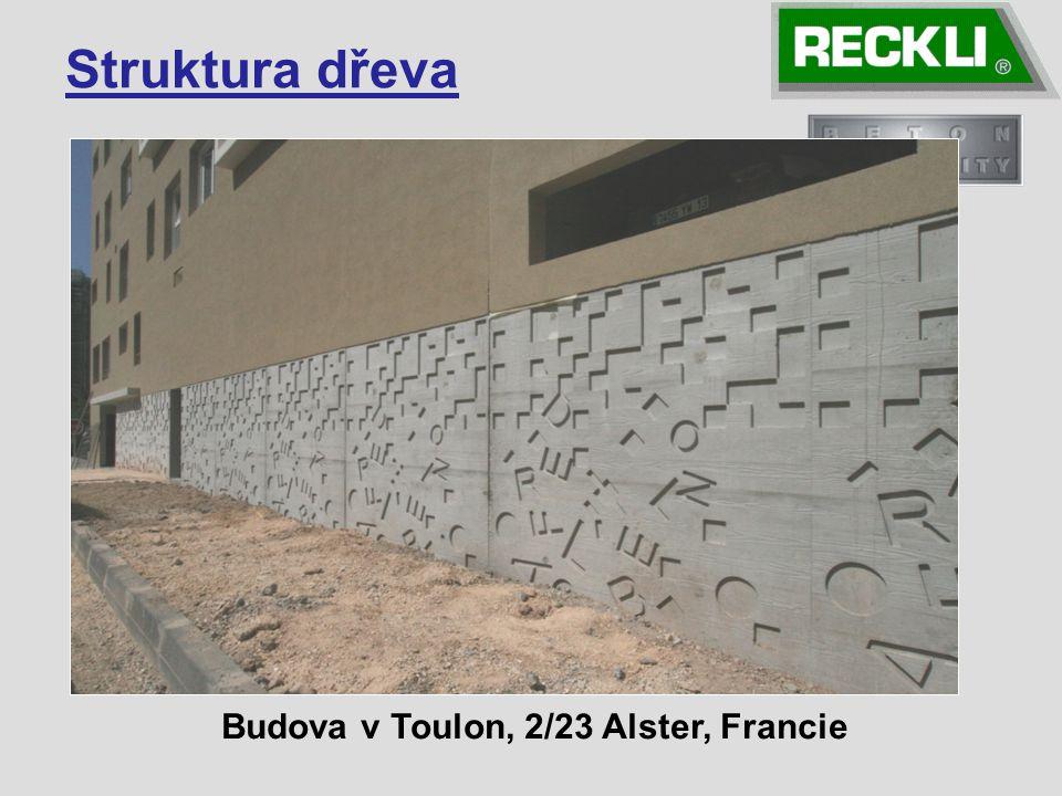 Struktura dřeva Budova v Toulon, 2/23 Alster, Francie