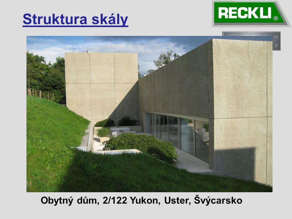Struktura skály Obytný dům, 2/122 Yukon, Uster, Švýcarsko