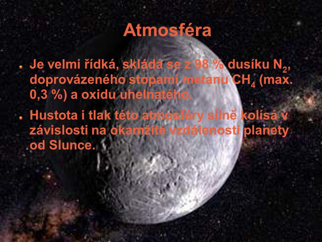 Měsíce Kolem Pluta obíhá měsíc nazvaný Charon, který byl objeven 22. června 1978. A 15. května a 18. května 2005 nalezl tým astronomů další dva měsíce