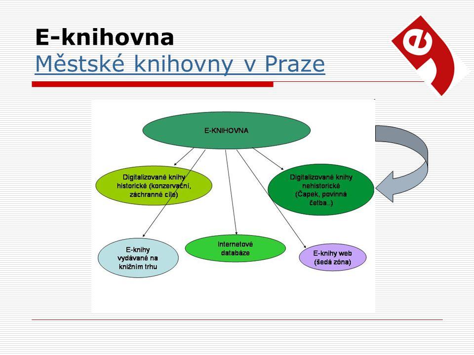 E-knihovna Městské knihovny v Praze Městské knihovny v Praze