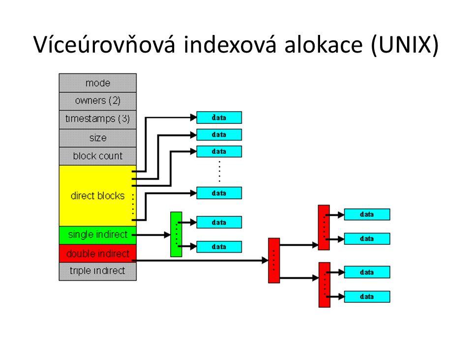 Víceúrovňová indexová alokace (UNIX)