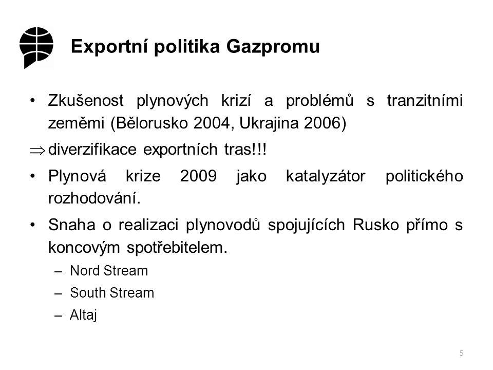 Současný stav a vývojové trendy exportní infrastruktury I 6