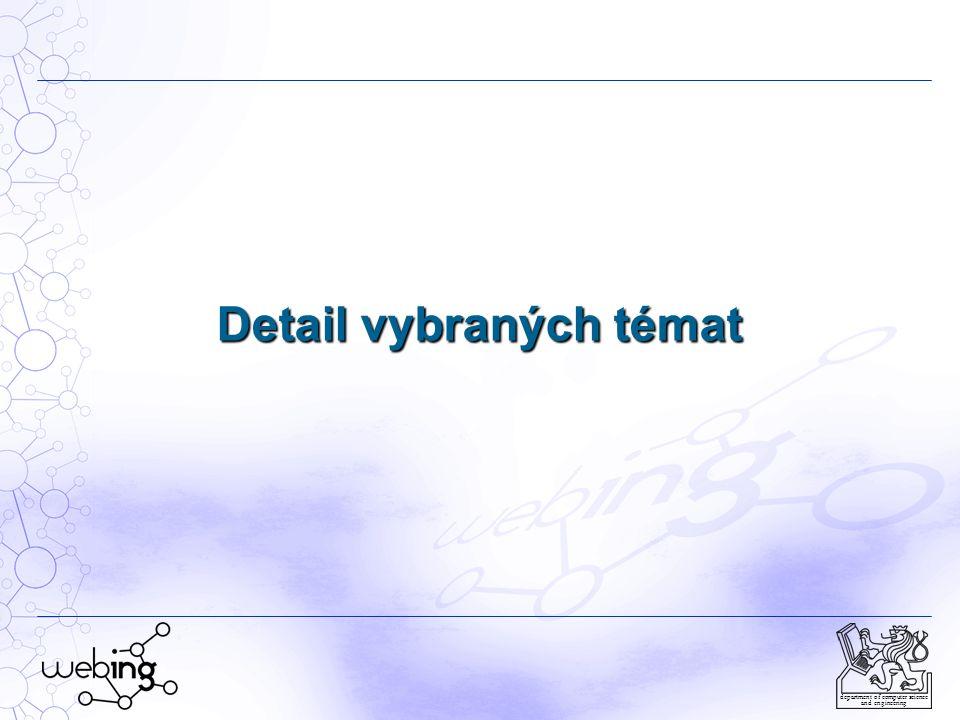 WEB Engineering (17) department of computer science and engineering Seznam bibliografických citací publikací 2010-2012, I Balík, M.