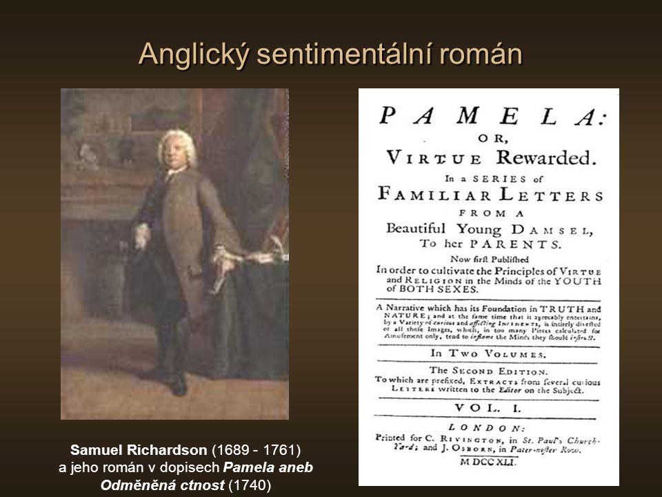 Francouzská preromantická próza Antoine-François Prévost d Exiles (1697 - 1763) a jeho román Paměti urozeného muže (1728)