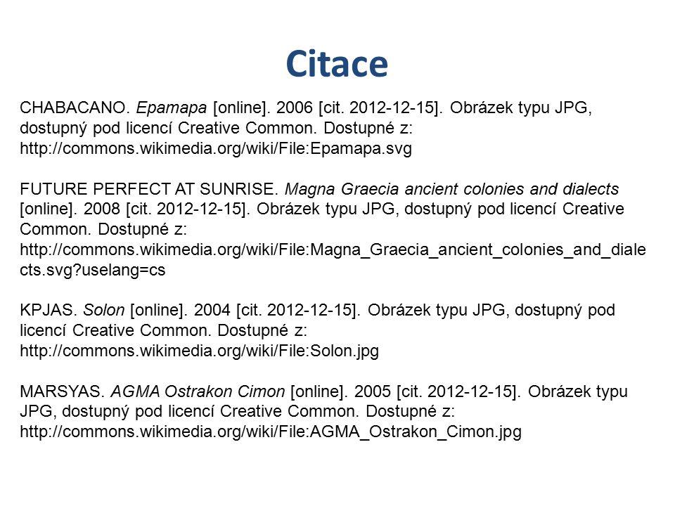 Citace CHABACANO.Epamapa [online]. 2006 [cit. 2012-12-15].