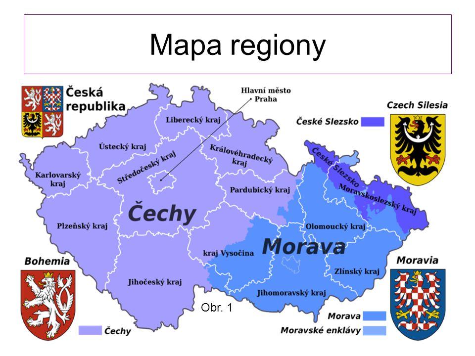 Mapa regiony Obr. 1