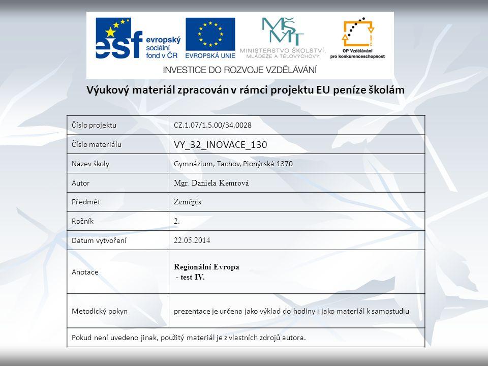 10.Hlavní produkty Švédska jsou .