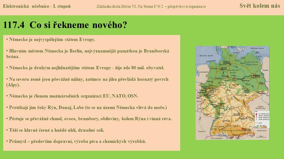 117.5 Procvičení a příklady Elektronická učebnice - I.