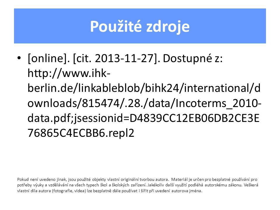 Použité zdroje [online].[cit. 2013-11-27].