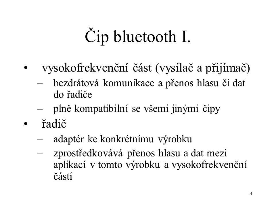4 Čip bluetooth I.