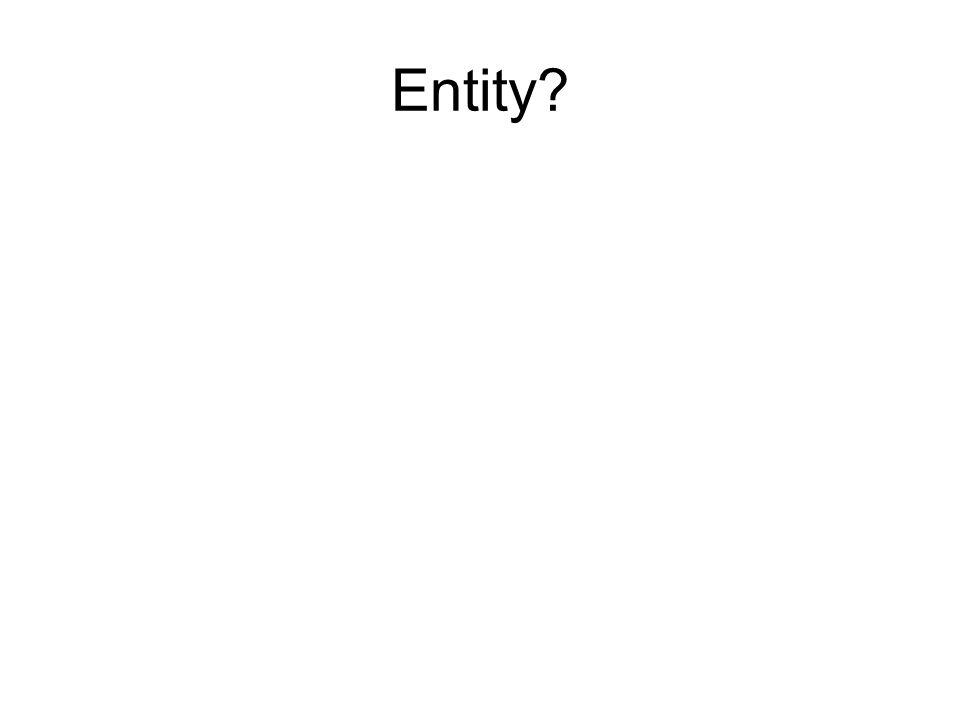 Entity?
