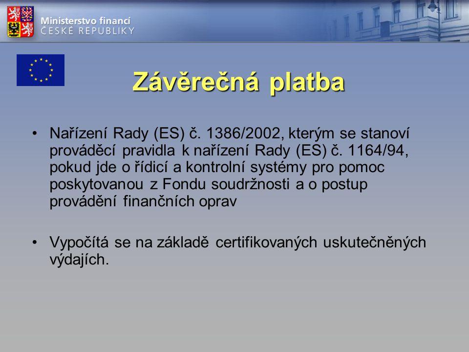 Nařízení Rady (ES) č. 1386/2002, kterým se stanoví prováděcí pravidla k nařízení Rady (ES) č. 1164/94, pokud jde o řídicí a kontrolní systémy pro pomo