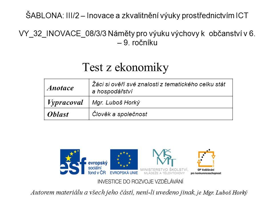 VY_32_INOVACE_08/3/3 Náměty pro výuku výchovy k občanství v 6.