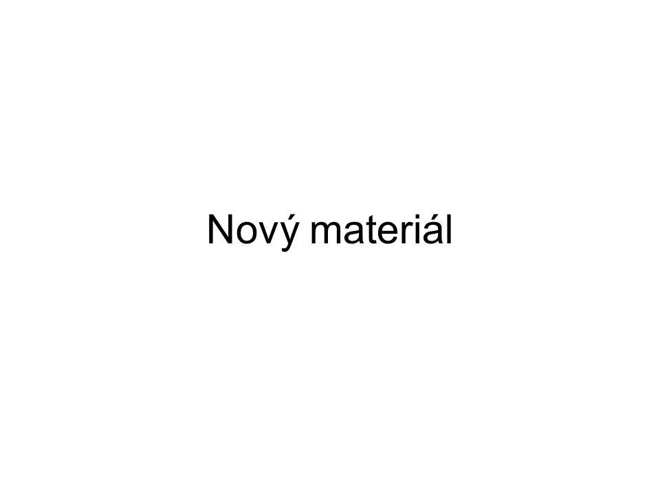 Nový materiál