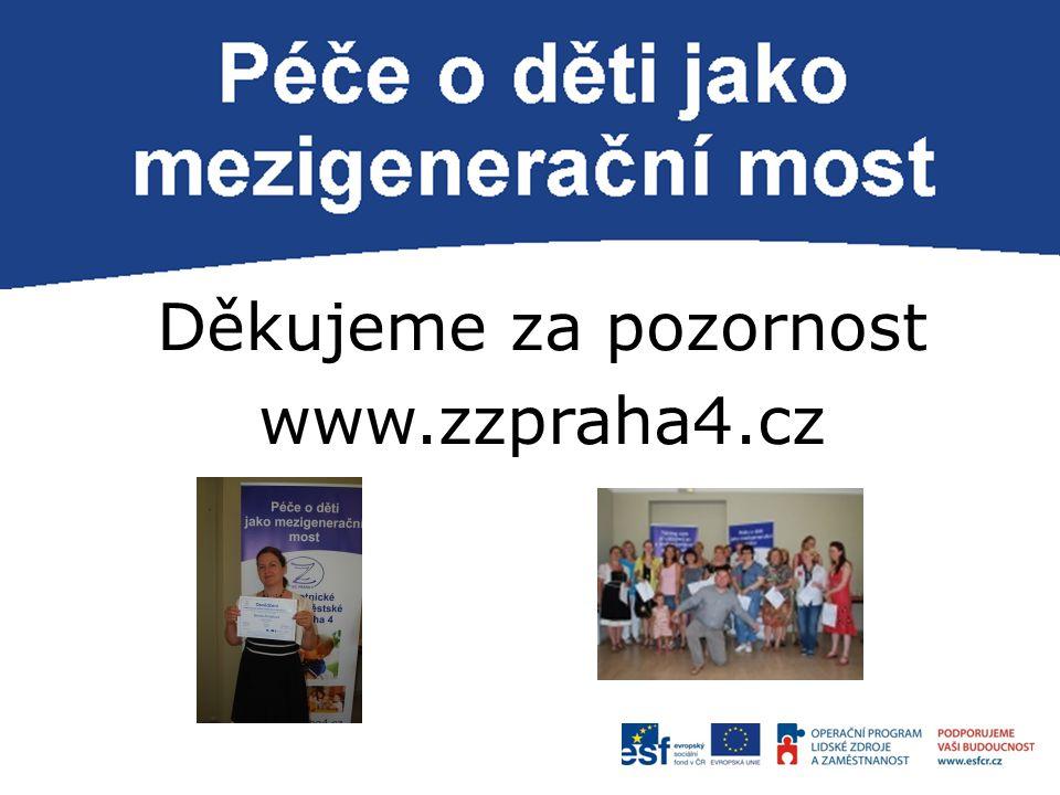 P Děkujeme za pozornost www.zzpraha4.cz