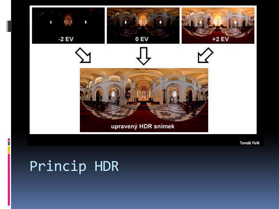 Princip HDR