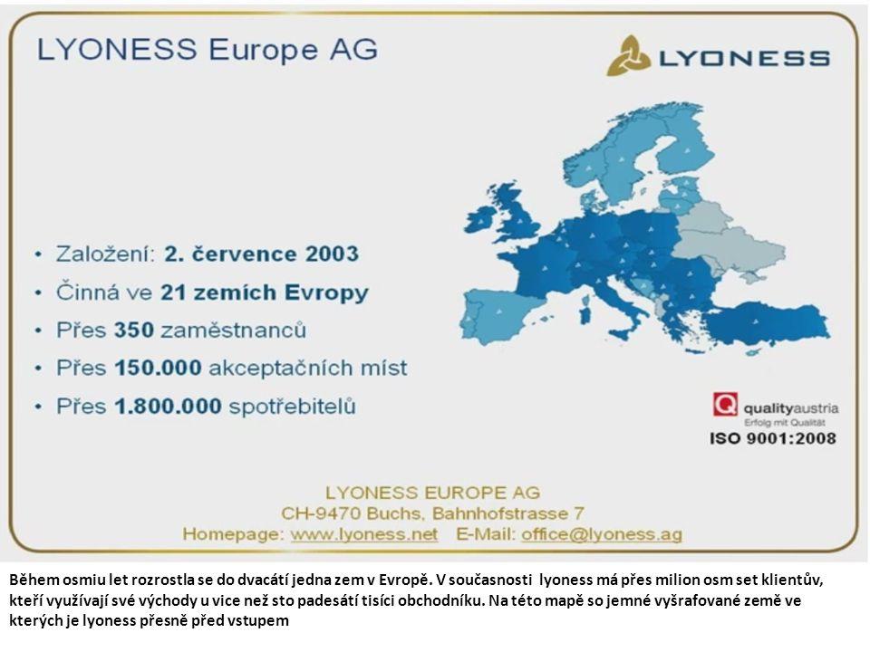 Jak to se začalo Akciová společnost Lyoness holding evrope byla založena v roce 2003 ve Švýcarským městě Buchs panem Hubertem Frajdlem.