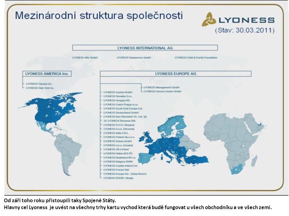Během osmiu let rozrostla se do dvacátí jedna zem v Evropě. V současnosti lyoness má přes milion osm set klientův, kteří využívají své východy u vice
