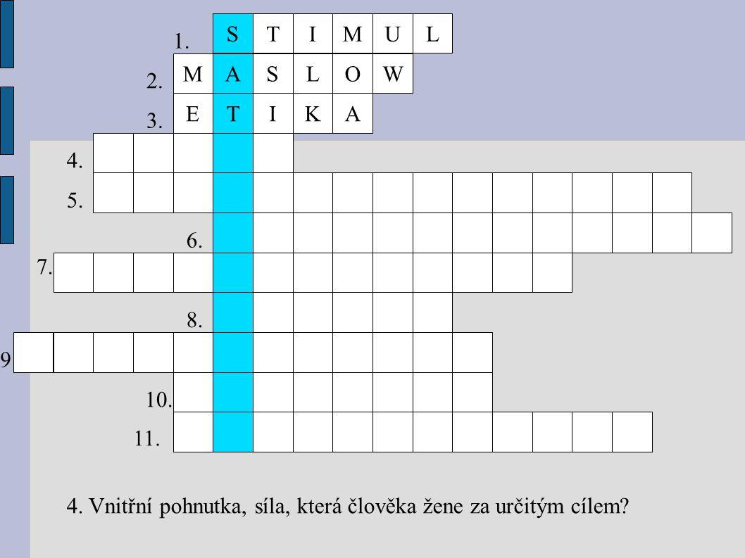 IE MLWO T AS K IV TIMULS MOT 1.2. 3. 4. 5. 6. 7. 8.