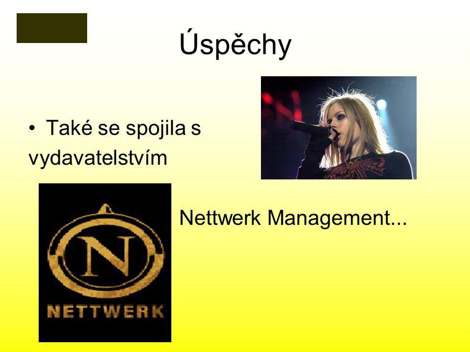 Úspěchy Také se spojila s vydavatelstvím Nettwerk Management...