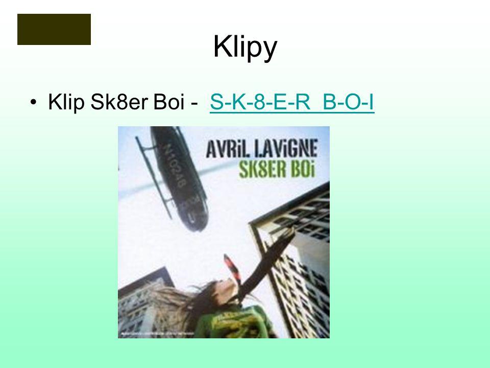 Klipy Klip Sk8er Boi - S-K-8-E-R B-O-IS-K-8-E-R B-O-I