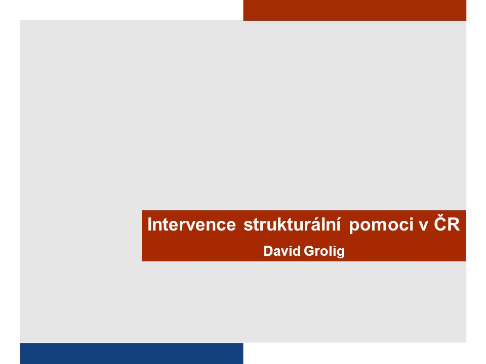 vytvoření 2 verze NRP pro plánovací období 2004-2006 Implementace strukturálních fondů v ČR, část 3: Střední Morava Jihovýchod Severovýchod Jihozápad Severozápad Střední Čechy turist.+lázeňství venkovský rozvoj a multif.