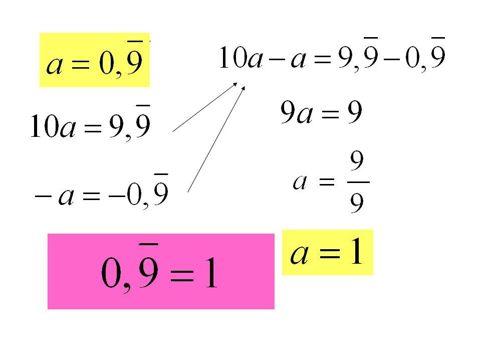 Reálná čísla - R - jsou všechna čísla na číselné ose.