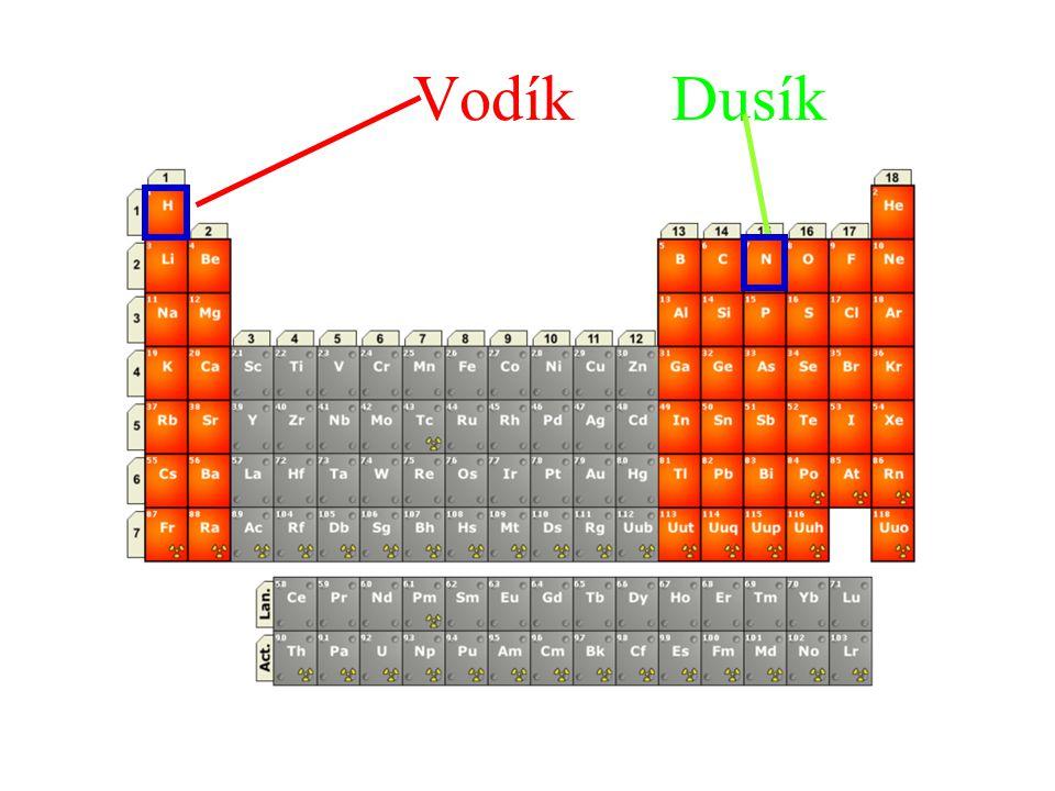 Vodík Dusík