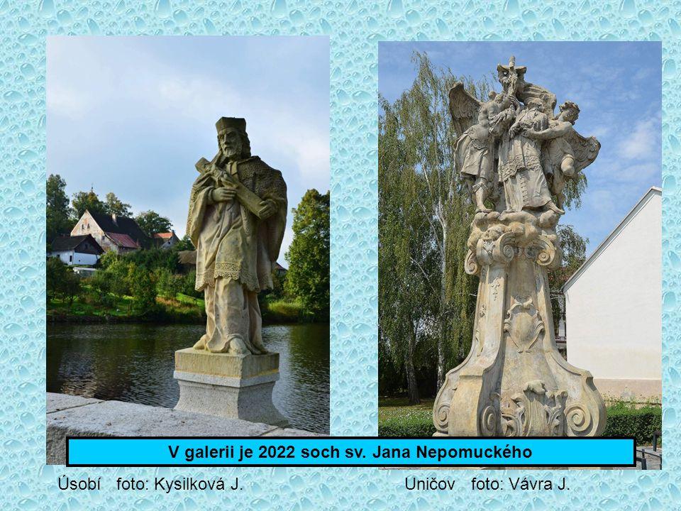 Odbor Klubu českých turistů v Nepomuk na svých webových stránkách vytvořil fotogalerii soch, kostelů, kapliček a obrazů nepomuckého rodáka sv. Jana Ne