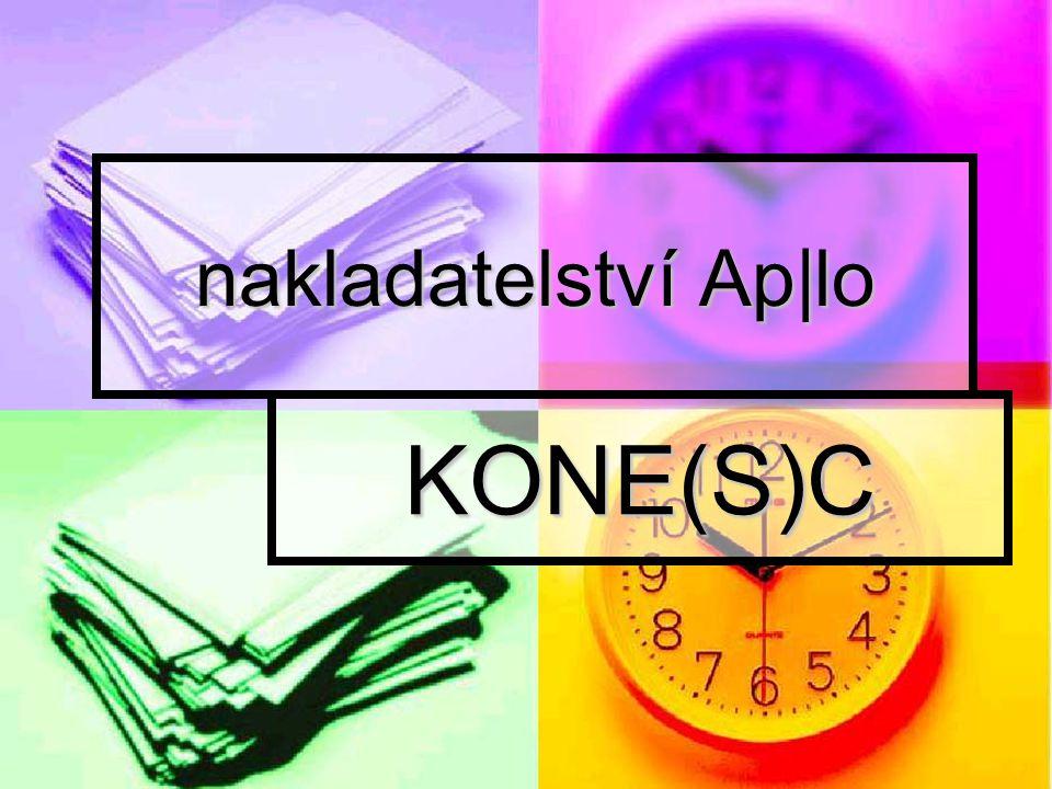 nakladatelství Ap|lo KONE(S)C