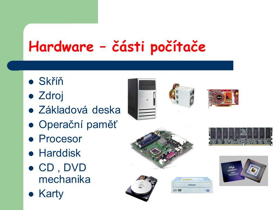 Počítačová myš Vstupní zařízení Levé tlačítko Pravé tlačítko Rolovací kolečko Koncovky- PS2, USB, Kuličková Optická