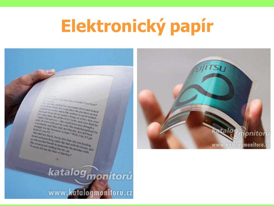 Elektronický papír