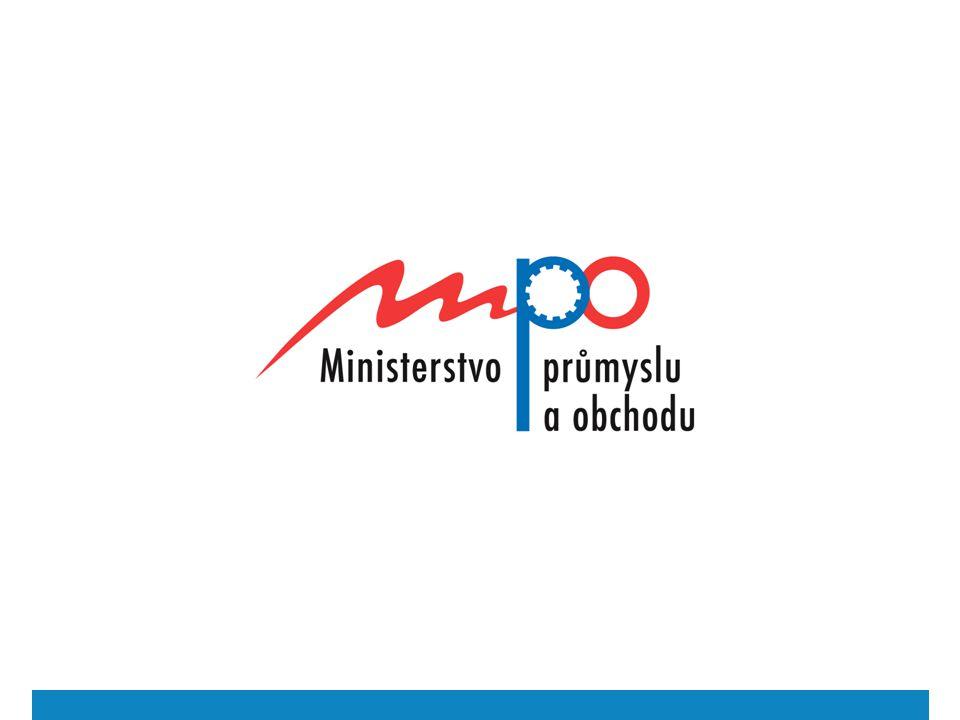  2009  Ministerstvo průmyslu a obchodu 12 Zákon č.