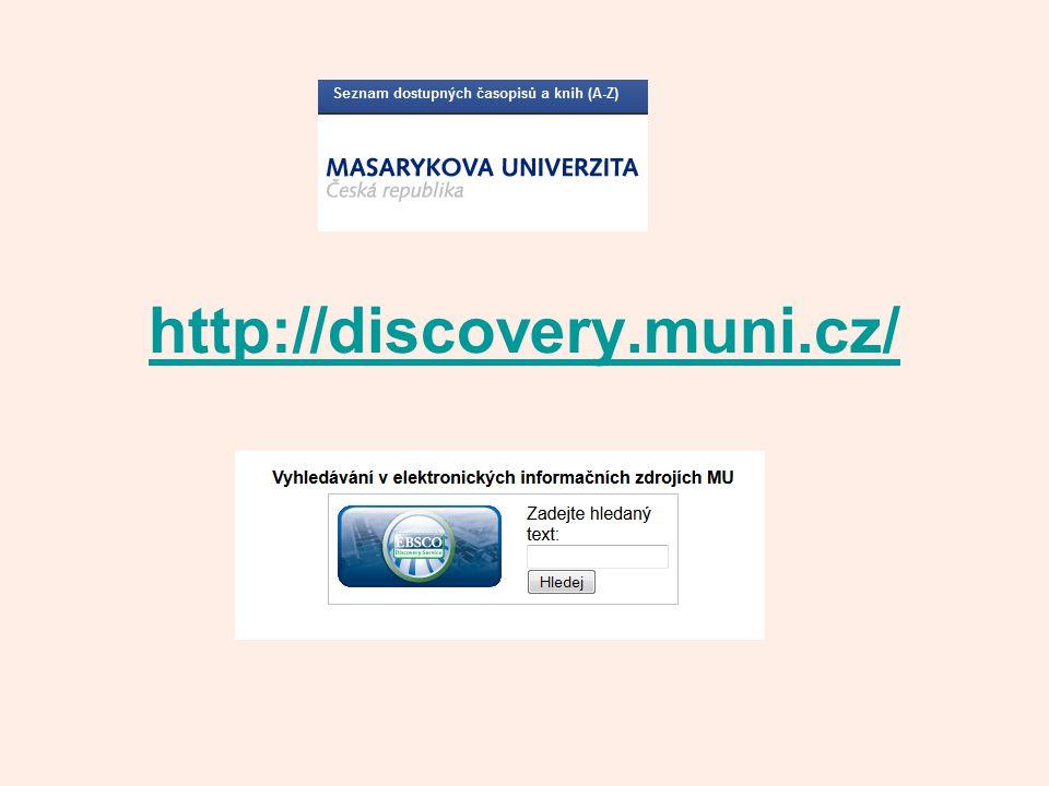 http://discovery.muni.cz/