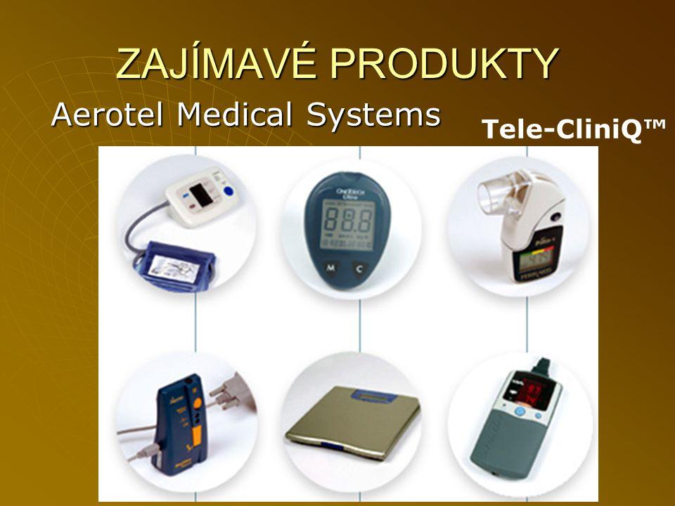 ZAJÍMAVÉ PRODUKTY Aerotel Medical Systems Tele-CliniQ™