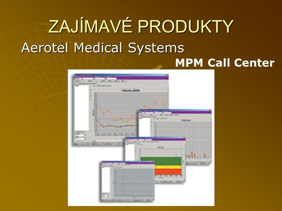 ZAJÍMAVÉ PRODUKTY Aerotel Medical Systems MPM Call Center