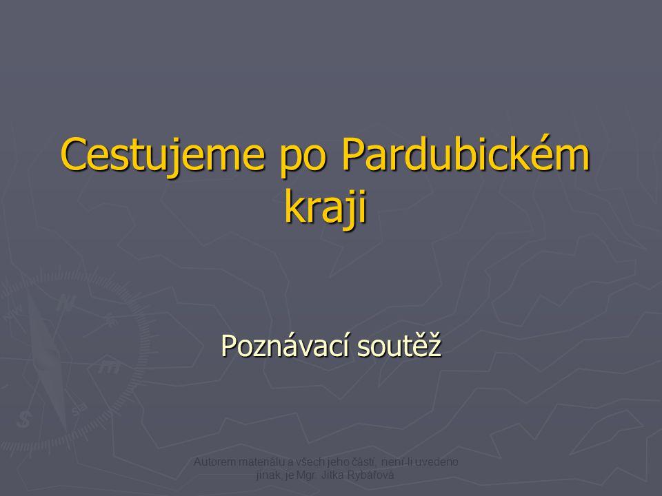 Nové Hrady Pardubický zámekOpevnění Králíky Kunětická hora Zajímavé stavby – poznáš je.