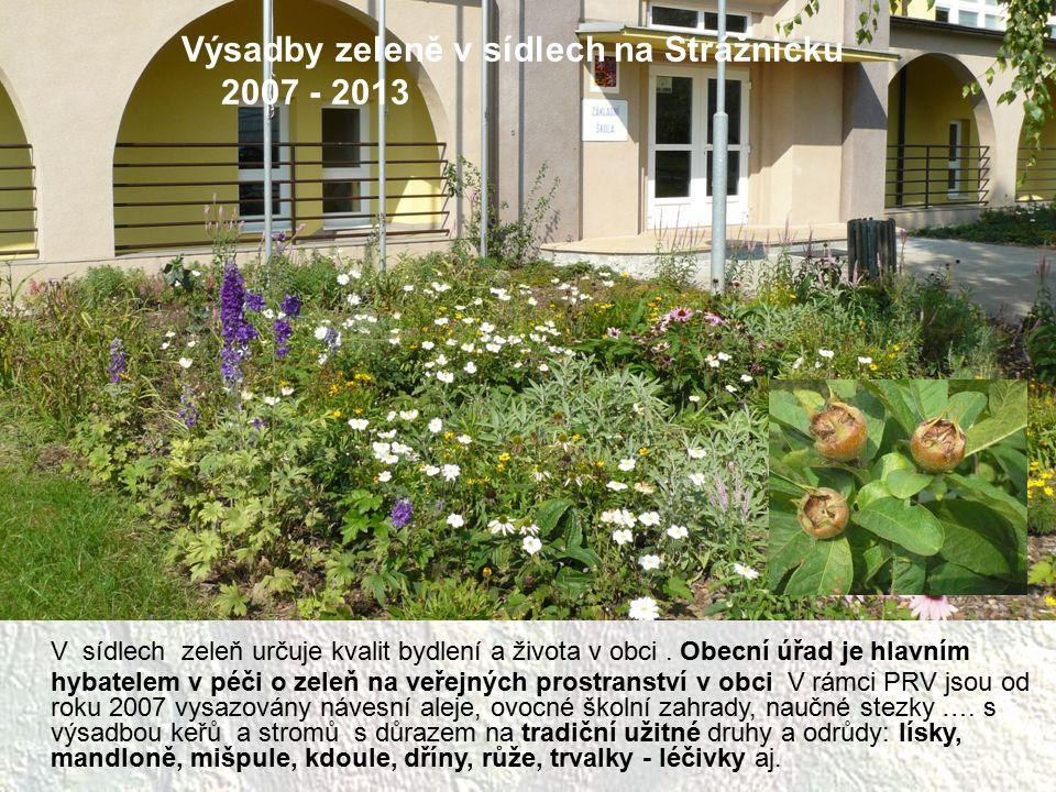 V sídlech zeleň určuje kvalit bydlení a života v obci. Obecní úřad je hlavním hybatelem v péči o zeleň na veřejných prostranství v obci V rámci PRV js