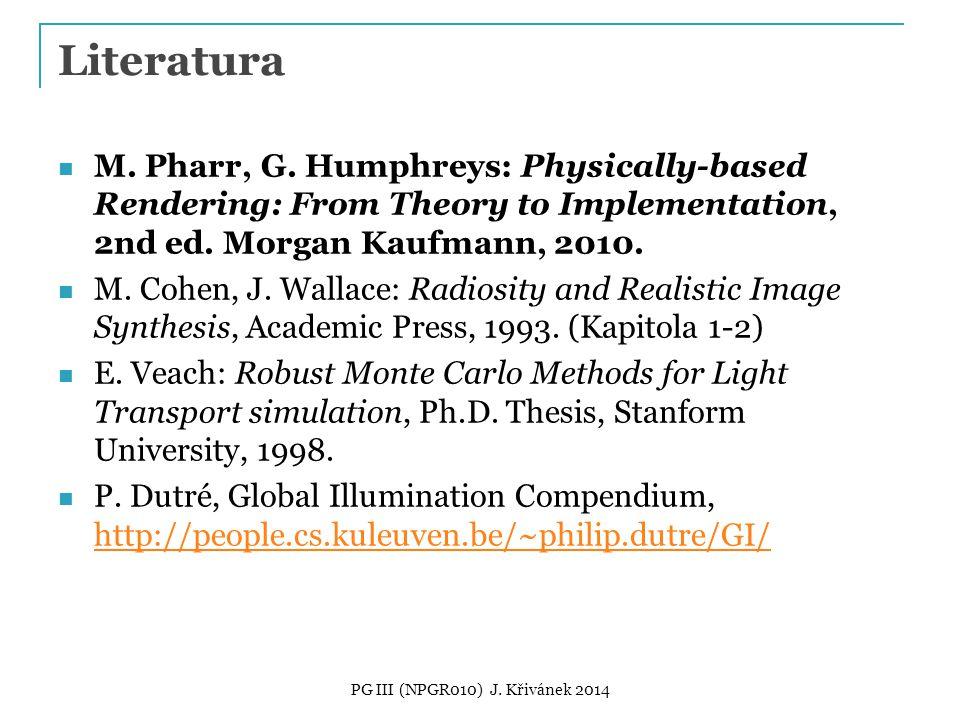 Literatura M. Pharr, G.